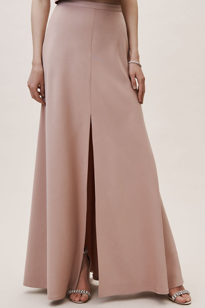 Jenny Yoo Whipped Apricot Soleil Skirt | BHLDN