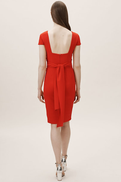 Dress the Population Tangerine Dana Dress | BHLDN