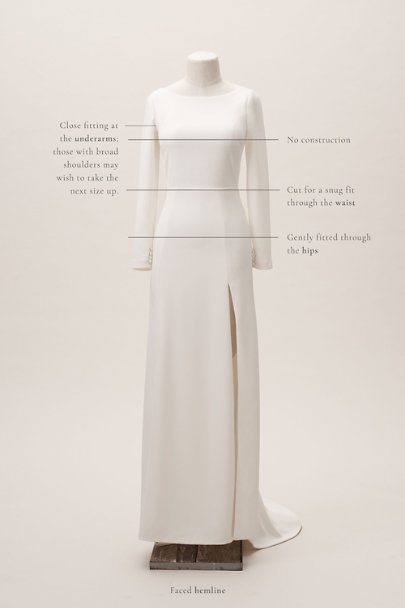 Amy Kuschel Ivory Redding Gown | BHLDN