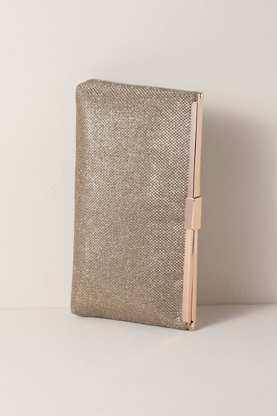 Adrianna Papell Neutral Stefania Clutch | BHLDN