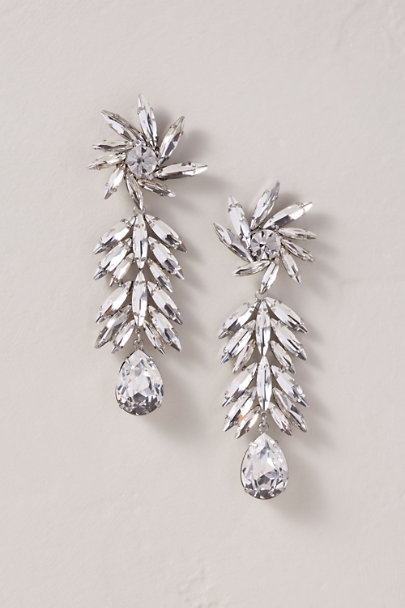 Dannijo Silver Tryst Chandelier Earrings | BHLDN
