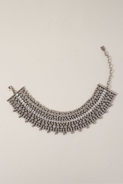 Dannijo Silver Stellan Necklace | BHLDN