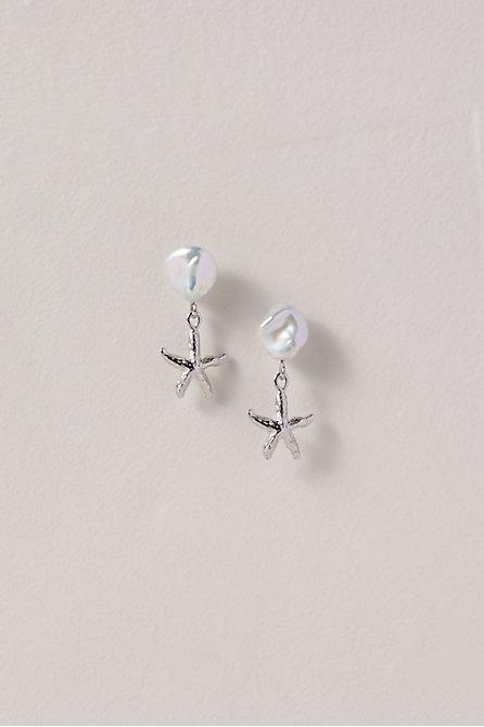 Petite Starfish Earrings