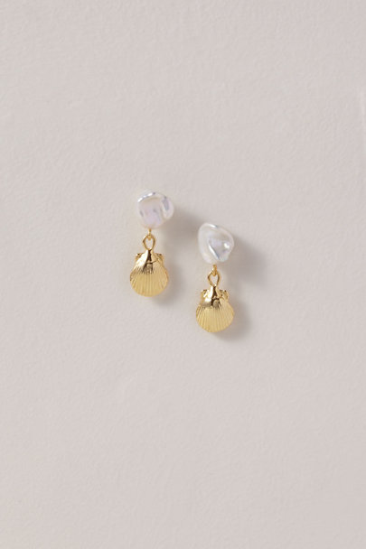 View larger image of Petite Shell Earrings