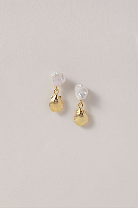 Petite Shell Earrings