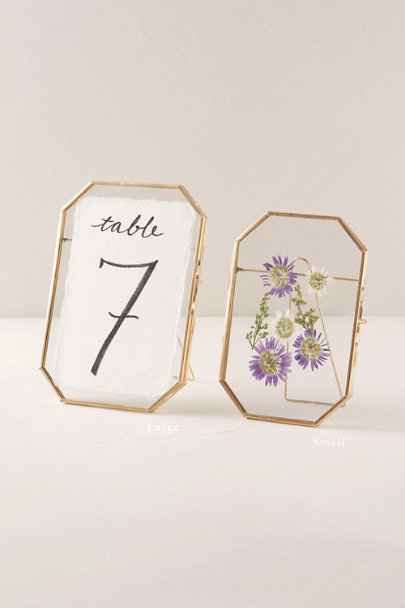 Isaac Jacobs Gold Small Octagon Picture Frame | BHLDN