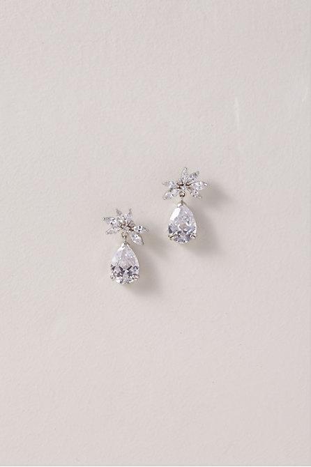 Botanical Teardrop Earrings