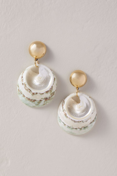 AV Max Gold By the Shore Earrings | BHLDN