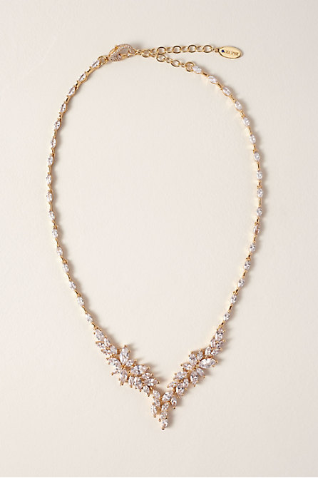 Crystal Wisteria Necklace