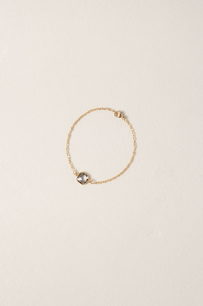 Whim Jewelry Gold Gray Quartz 14k Gold Fill Bracelet | BHLDN