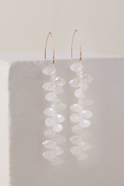 Moonstone Vine Earrings