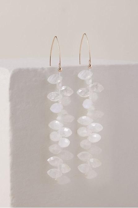 Moonstone Vine Earrings