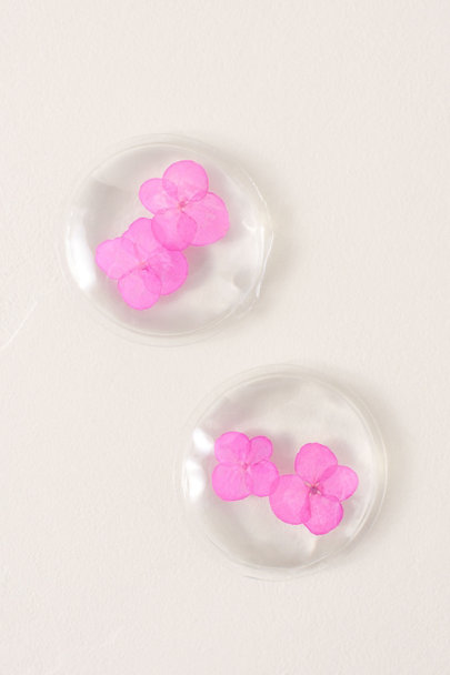 Twelve Inc. Pink Peaceful Posies Gel Eye Pads | BHLDN