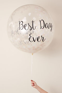 Best Day Ever Jumbo Confetti Balloon