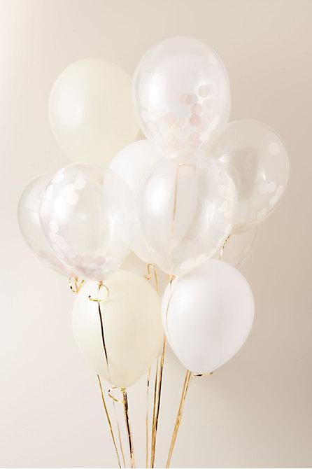 Confetti Party Balloons