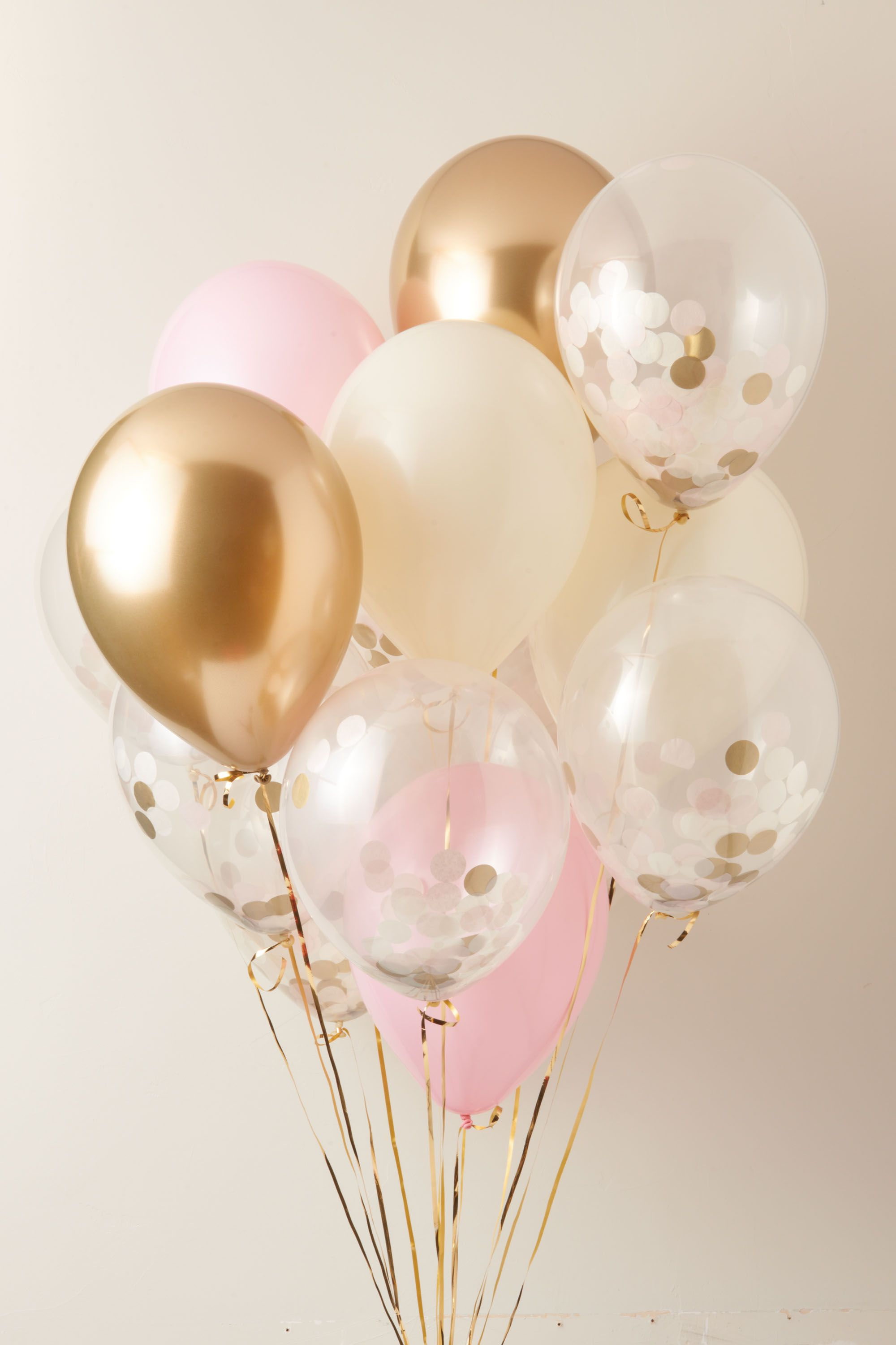 Pink Confetti Party Balloons | BHLDN