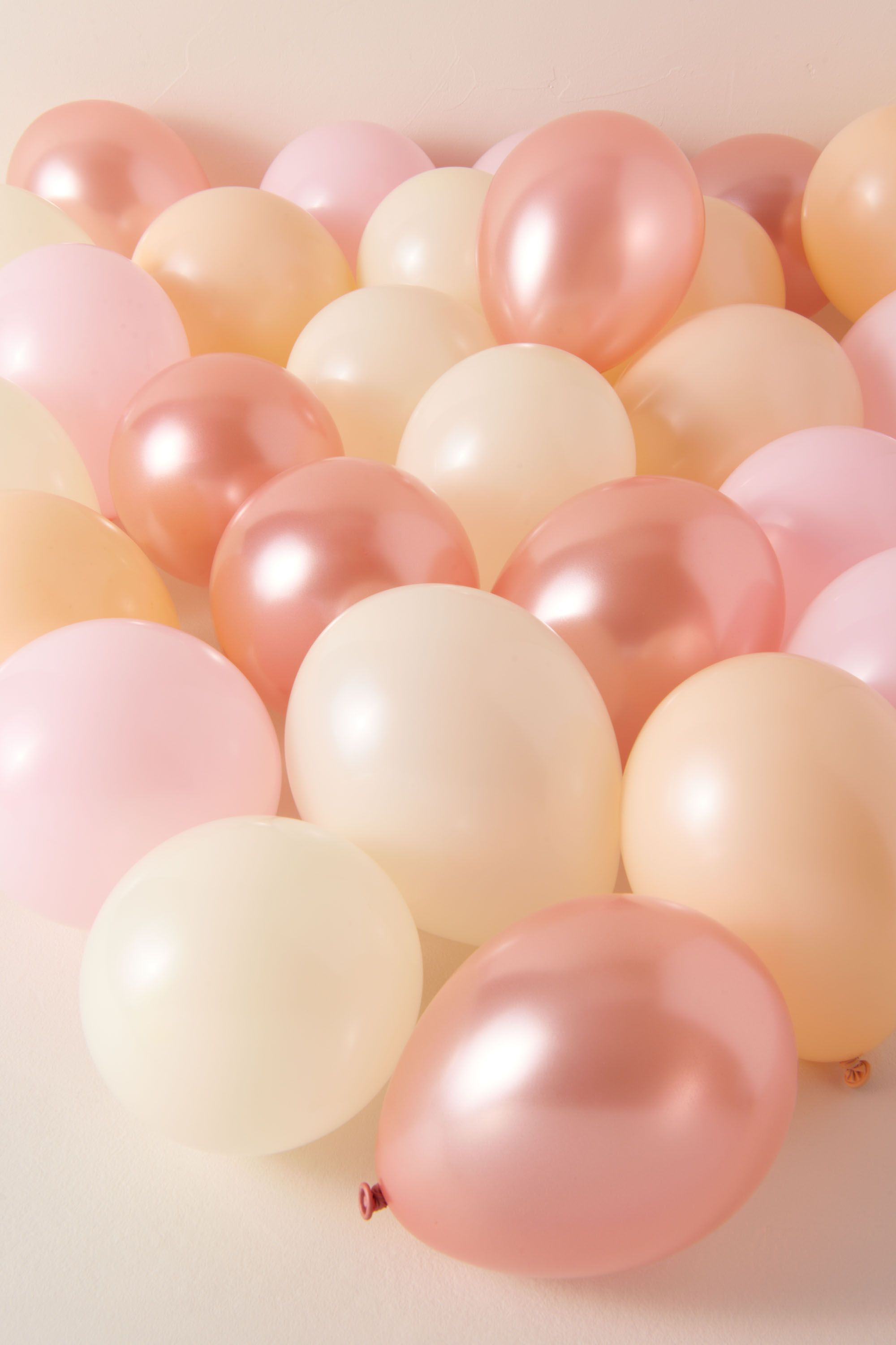 Med Pink/rose Mini Party Balloons | BHLDN