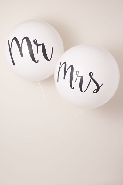 View larger image of Mr. & Mrs. Jumbo Balloons