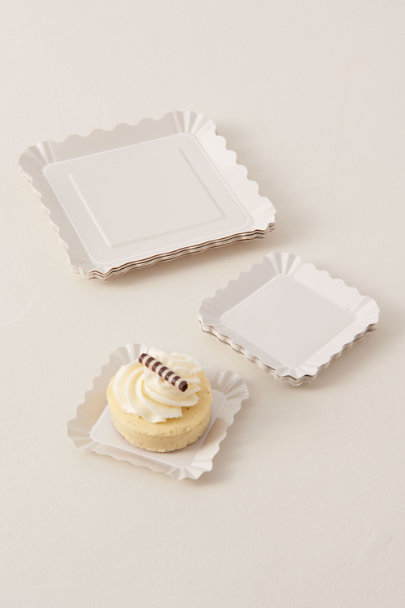 View larger image of Scalloped Large Appetizer Paper Plates