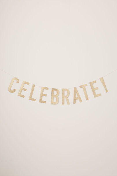 View larger image of Glitter Celebrate Banner