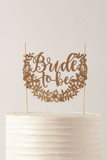 View larger image of Bride To Be Cake Topper