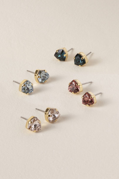 Sorrelli Red Dazzling Stud Earrings | BHLDN