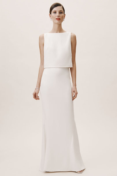 Amy Kuschel Ivory Lady Bird Top | BHLDN