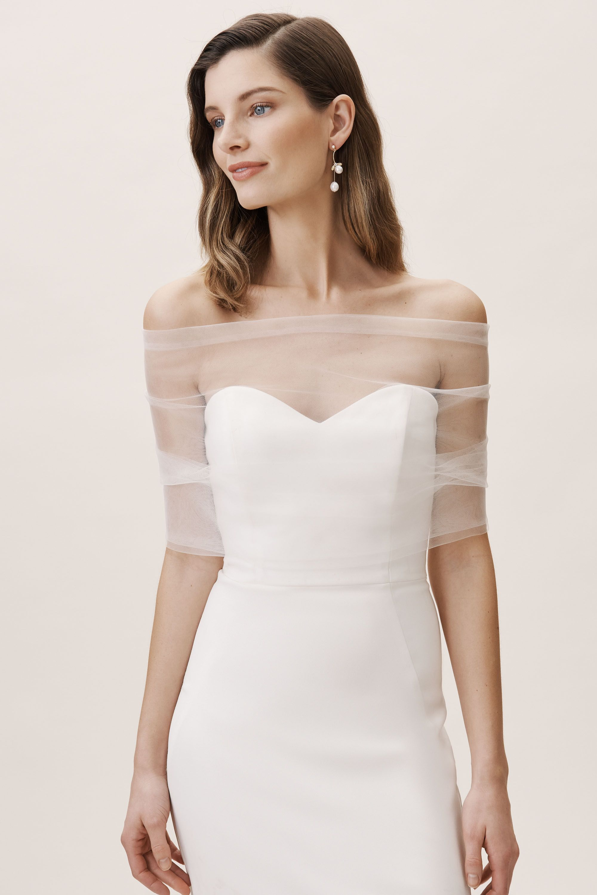 more photos 64b45 fe7fd BHLDN's Amy Kuschel Amy Kuschel With Love Wrap in Ivory
