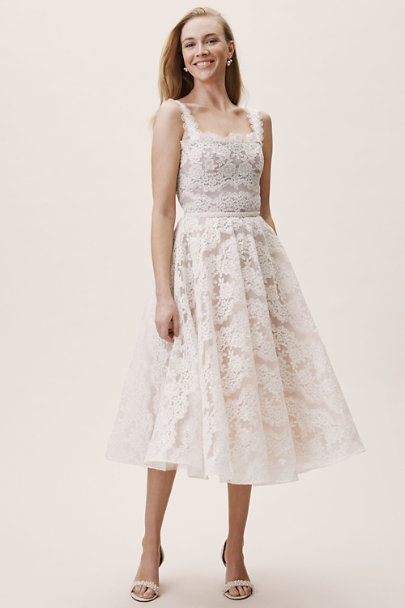 Bronx & Banco Ivory Britney Dress | BHLDN