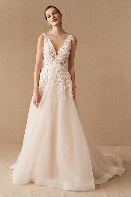 BHLDN Carmel Gown