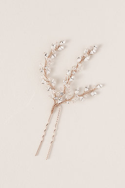 Crystal Fronds Hair Pin