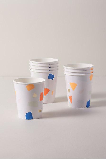 Bright Terrazzo Cups