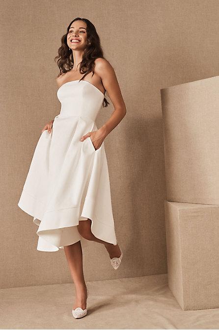 Casual Wedding Dresses: Courthouse & City Hall - BHLDN