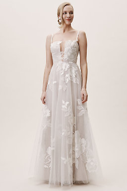 4d1f08509e4 Lace Wedding Dresses   Beaded Wedding Gowns