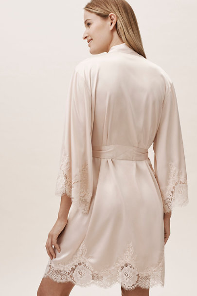 Homebodii Pink Olivia Robe | BHLDN
