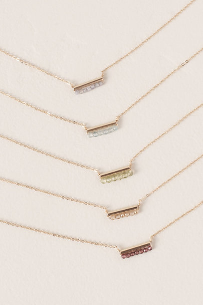 Kozakh Green Cobie Gold Fill Necklace | BHLDN