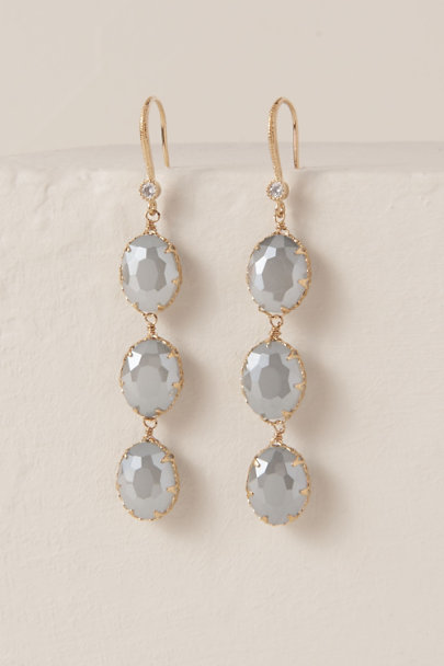 Theia Jewelry Blue Deep Blue Sea Drop Earrings | BHLDN