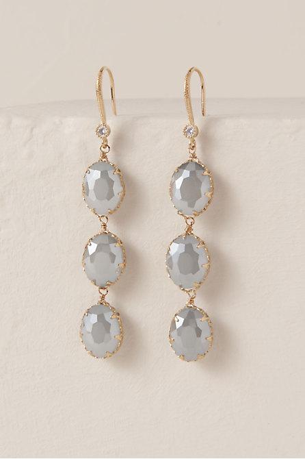 Deep Blue Sea Drop Earrings