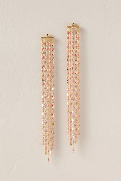 Cloverpost Gold Sunset Fringe Earrings | BHLDN