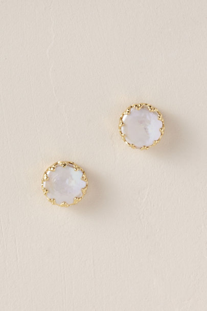 Sorrelli Gold Marine Bling Earrings | BHLDN