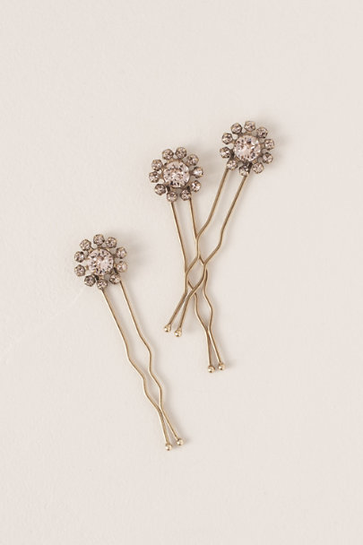 View larger image of Blushing Blooms Hair Pins