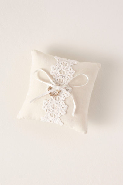 View larger image of Lace Ring Pillow