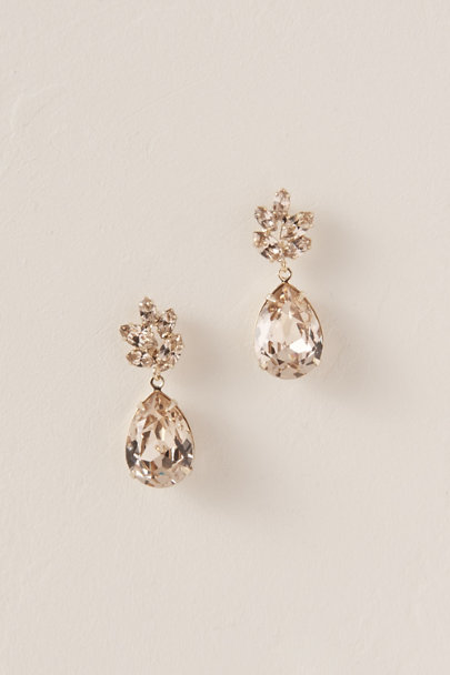 Ti Adoro Gold Tracy Drop Earrings | BHLDN
