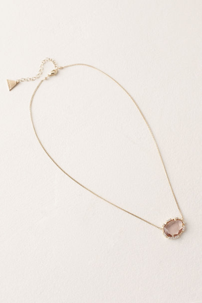 Serefina Pink Olive Necklace | BHLDN