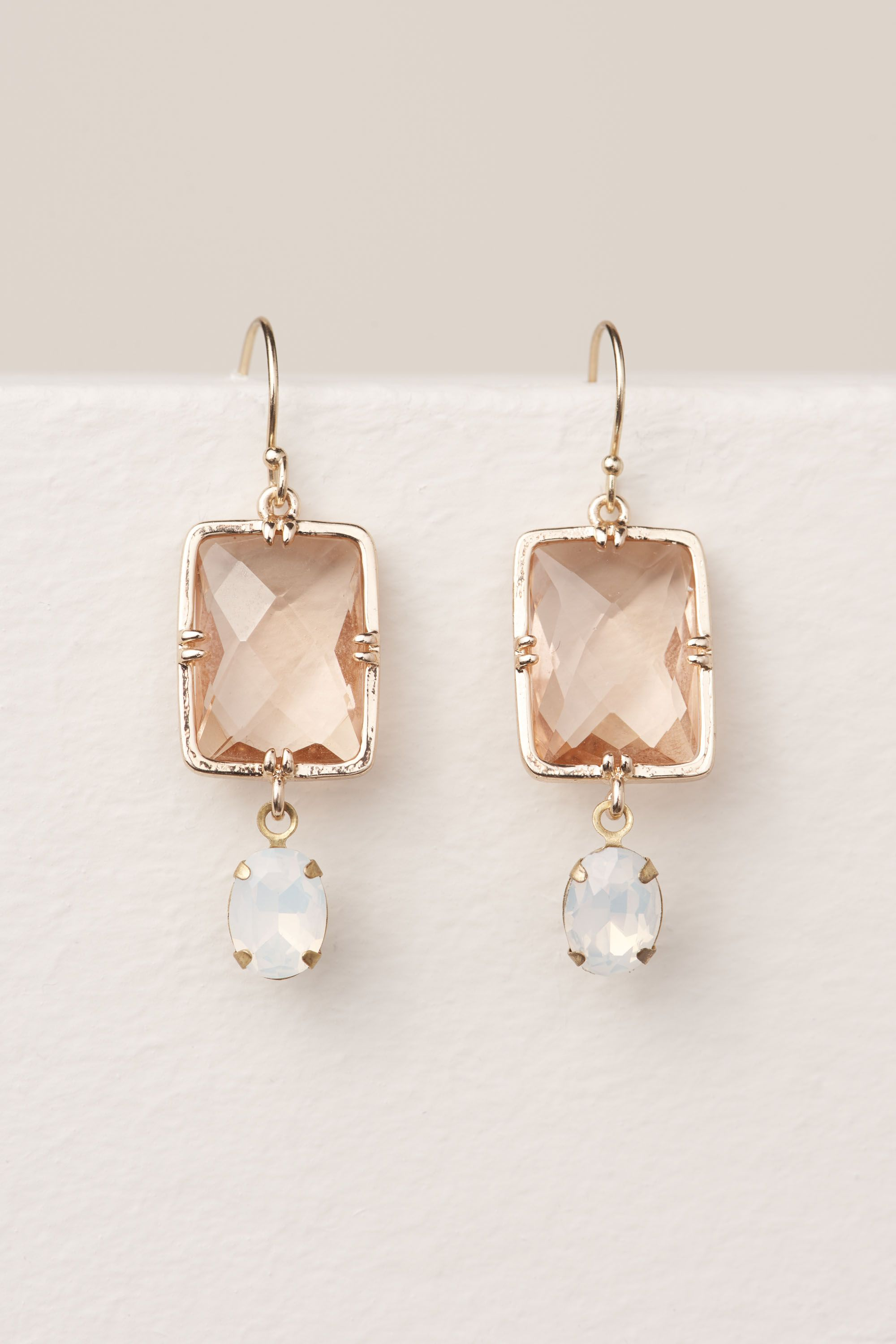 Gold Lorenza Drop Earrings | BHLDN