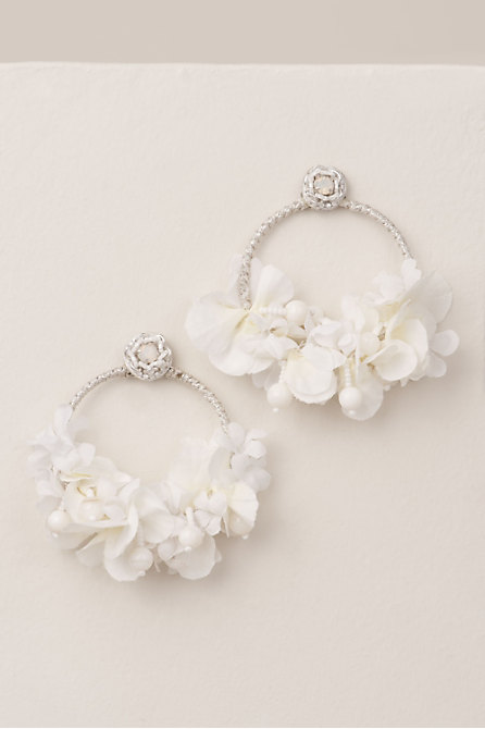 Signs of Spring Hoop Earrings