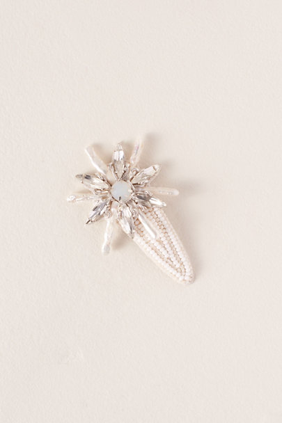 Ranjana Khan White Maui Hair Clip | BHLDN