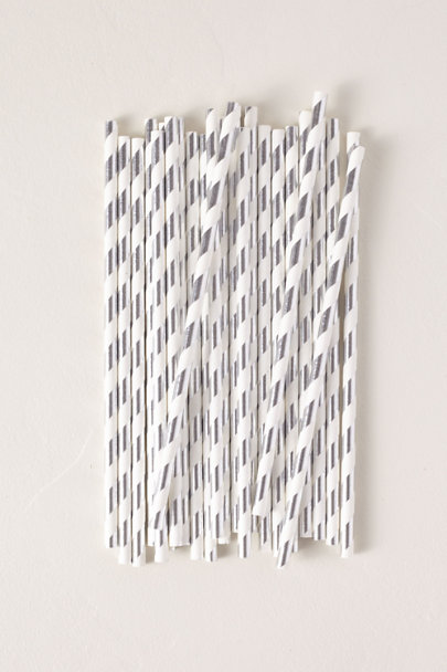 View larger image of Foil Stripe Paper Straws