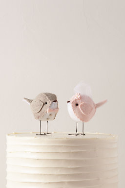 Love Birds Cake Toppers