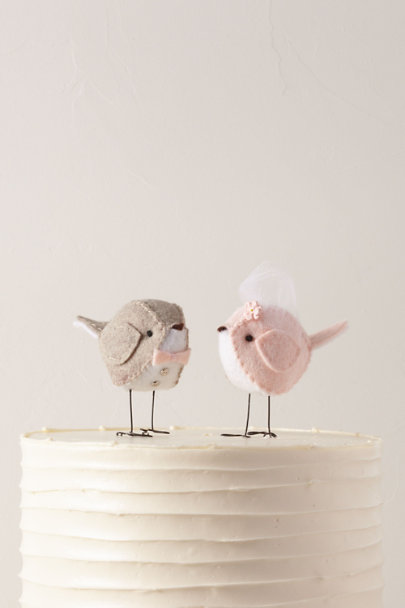 View larger image of Love Birds Cake Toppers